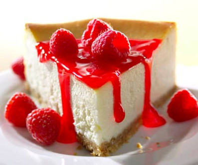 Cheesecake-raspberry