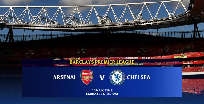 Chelsea vs Arsenal 2015 Soccer Football