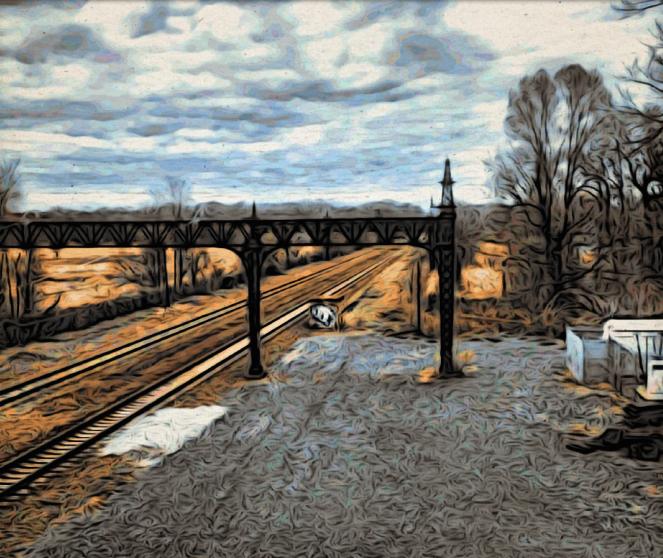 Railroad to Nowhere - RawMultimedia Photography Lifestyle Art